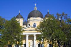 Preobrazhensky cathedral in St.Petersburg - stock photo