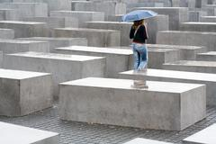 Monument to the victims of holocaust in Berlin Kuvituskuvat