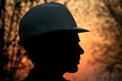 Uranium Mine worker Stock Photos