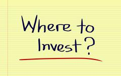 Stock Photo of Where To Invest Concept