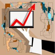 improvement - stock illustration
