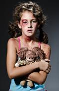 Stock Photo of Domestic violence