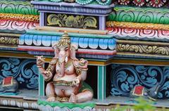 Hindu Architecture - stock photo