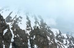 Alp mountain view (Austria) - stock photo