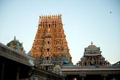 Hindu Architecture Stock Photos