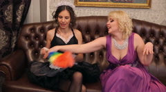 Chambermaid and Mistress Stock Footage