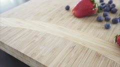 Views of fresh berries in a kitchen in 4K (1 of 5) Stock Footage