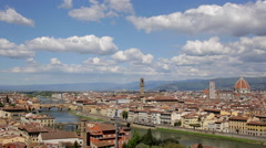 Florence Time Lapse - stock footage