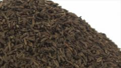 Caraway seeds pan 3 Stock Footage