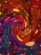 Hue Twirl Stock Illustration
