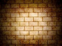 Spotlight wall - stock illustration