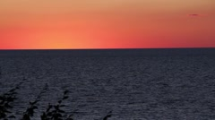 Pentwater Sunset2 Stock Footage