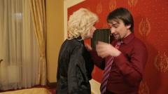 Quarrel Between Lovers 2 - stock footage