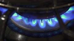Views of a Propane Gas Burner (1 of 8) Stock Footage