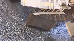 Mining - Bucket Conveyor Stock Footage