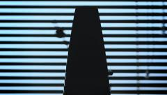 Mechanical metronome - stock footage