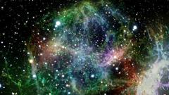 planetary nebula - stock footage