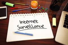 Stock Illustration of Internet Surveillance
