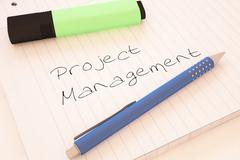 Project Management Stock Illustration