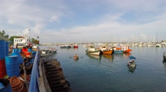 Harbour view of Salvador, Bahia, Brazil Stock Footage