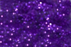 Purple Bokeh Effect - stock photo