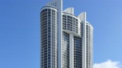 Buildings at Sunny Isles Beach FL 2 Stock Footage