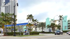 Sunny Isles Beach FL panning - stock footage