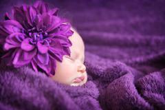 Baby fashion concept Stock Photos