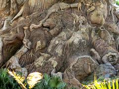 Stock Photo of The Tree of Life in the Animal Kingdom Park, Disney World, Florida