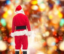 Man in costume of santa claus Kuvituskuvat