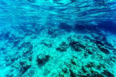 Beautiful seabed background Stock Photos