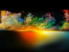 Glow of Colors - stock illustration