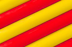 colorful plastic tubing pattern texture background - stock photo