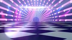 disco dance floor background - stock footage