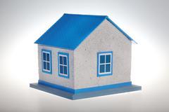 House model isolated Stock Photos