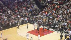 NBA Basketball Spurs vs Trailblazers Common Foul Arkistovideo