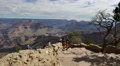 4K Grand Canyon South Rim Dolly 06 Yavapai Point Footage