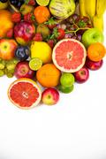 Stock Photo of Fruits All Together