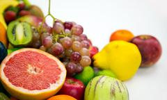 Fruits All Together Stock Photos