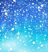 Snow theme background 1 - stock illustration