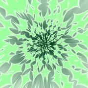 Abstract centralized greenish background - stock illustration