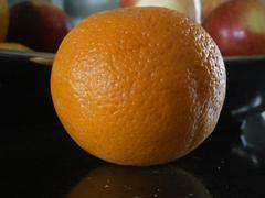 Detailed orange - stock photo