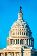 Stock Photo of Capitol building dome Washington DC US congress