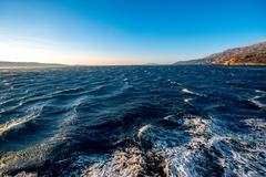Adriatic sea and Croatian islands Stock Photos