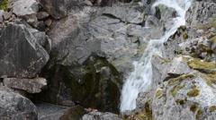 Mountain waterfall Stock Footage