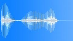 Cartoon agree nasal voice - sound effect