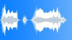 Cartoon satisfied nasal voice - sound effect