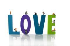 making love - stock photo