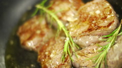 Yummy Steak Stock Footage