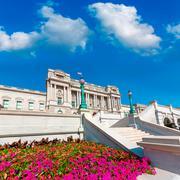 Thomas Jefferson Library of Congress Washington Stock Photos